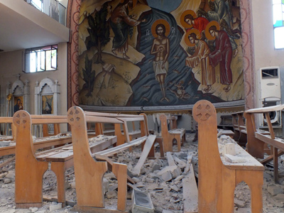 Syrian rebels burn and plunder religious sites – Human Rights Watch