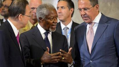 In search of peace: Annan arrives in Iran from Damascus