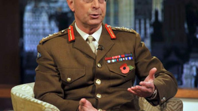 Britain could intervene in Syria within months - top UK general