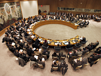 Libyan shadow over UNSC