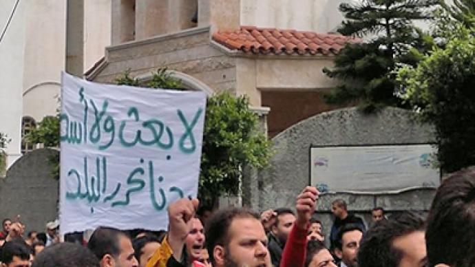 """""""Syrian armed gangs aren't peaceful demonstrators"""" – Canadian analyst"""