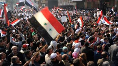 'Syria solution: Federation without Assad'