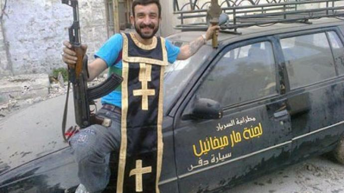 Nothing safe, nothing sacred: Syrian rebels desecrate Christian churches? (PHOTOS)