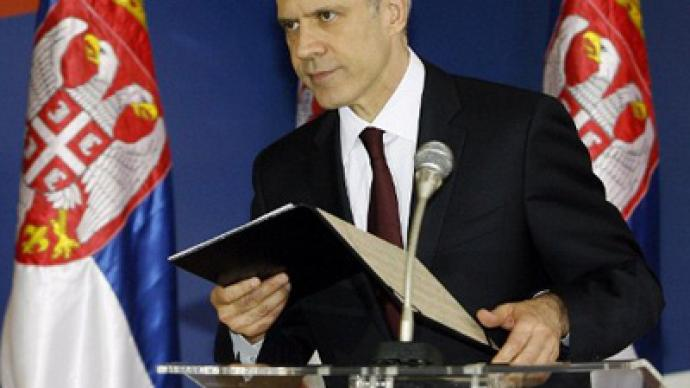 Serbian president Tadic resigns to prompt early election