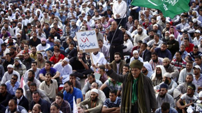 Thousands of ultraconservative Muslims rally for Sharia in Egyptian constitution (PHOTOS)