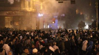 Banned neuro-toxic nerve gas 'poisons' Tahrir (PHOTOS)