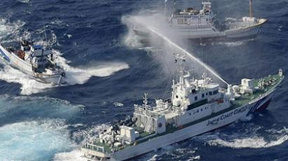 China-Japan exchange diplomatic blows after Chinese 'airspace violation'