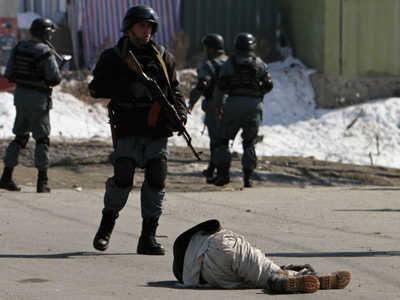 NATO withdraws personnel from Afghan ministries after Kabul killing