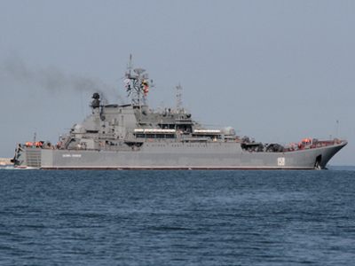 Russian Navy to evacuate Syrian base in emergency