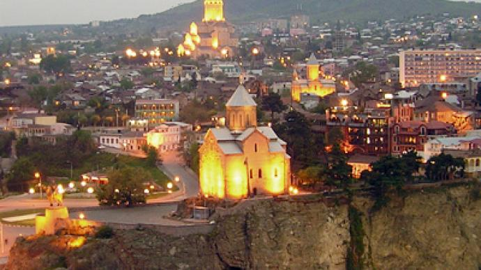 Out with the old: Tbilisi's charm reduced to rubble