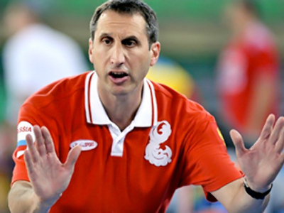 Team Russia head coach signs contract with Israel's Maccabi