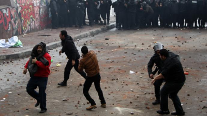 Tear gas in Alexandria, Egypt, as constitution protesters and supporters clash (VIDEO)