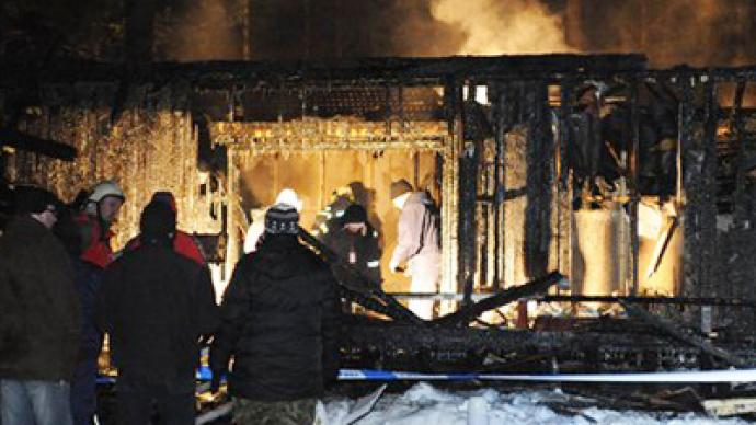 Estonia mourns ten children killed in orphanage fire
