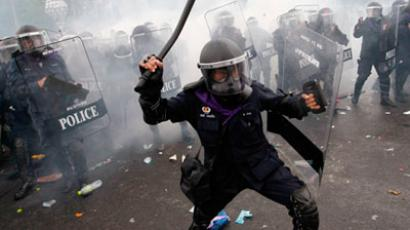 'Get out! Get out!': Thai protesters demand 'people's revolution'