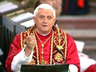 The Pontiff makes an apology