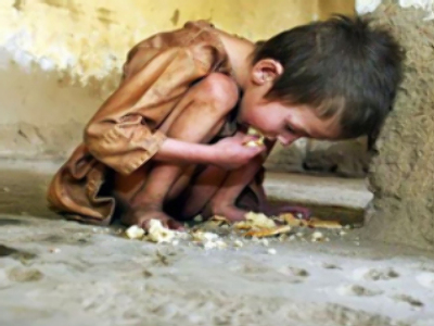 The right to eat: Earth faces starvation