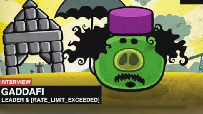 North Africa crisis in 'Three Little Pigs vs Angry Birds' wrap