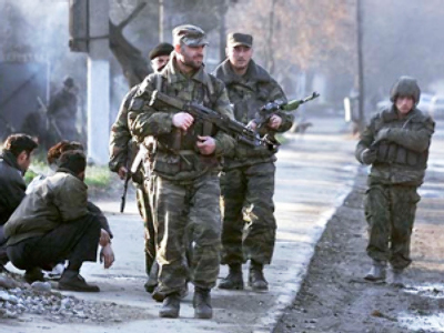 Russian military convoy attacked in North Caucasus