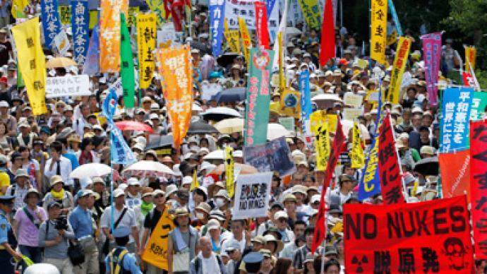 Sayonara atomic energy: Biggest anti-nuclear rally hits Tokyo (PHOTOS)