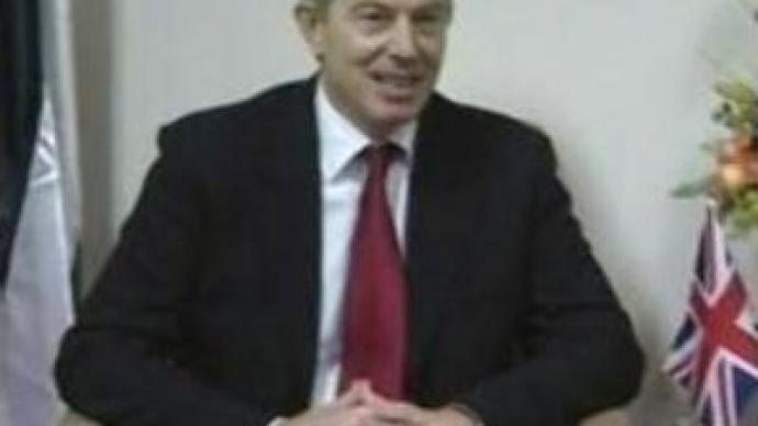 Tony Blair visits Israel and conflict-torn Palestine