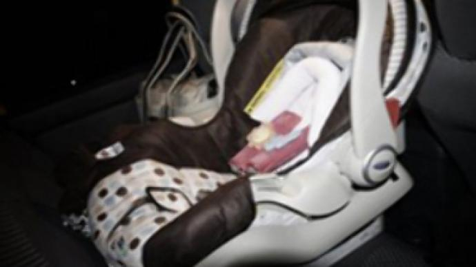 Tragic mum's baby suffocates in car