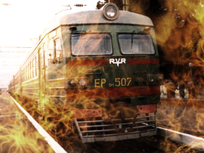Train passengers killed as Lada derails locomotive