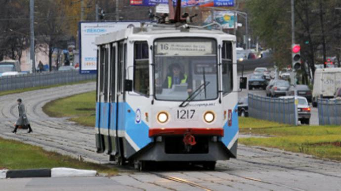 One track mind: Russian teen hi-jacks tram