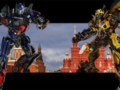 Transformers to wreak havoc on Moscow