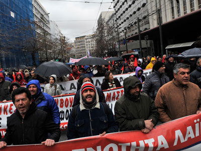 Anti-Austerity Anger: Greeks take to streets in light of new cuts  (PHOTOS)