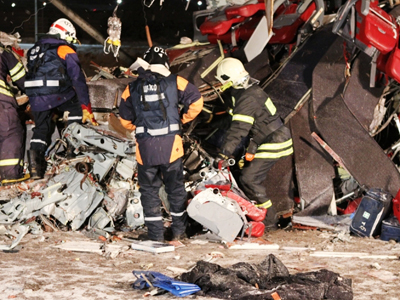 50 dead as passenger jet crashes in central Russia (PHOTOS,VIDEO)