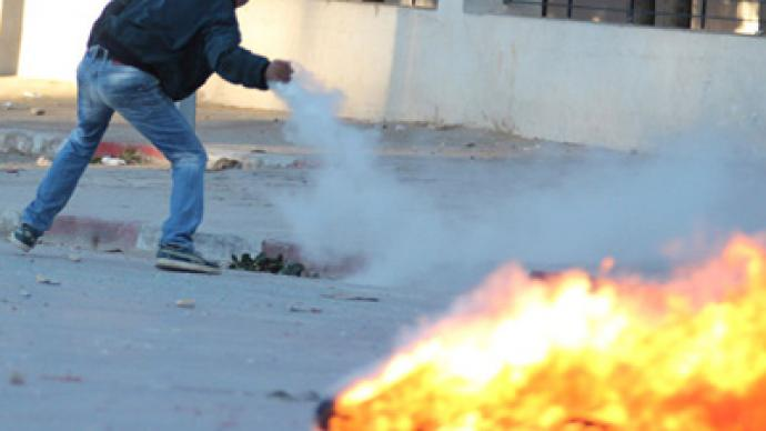 200 wounded as Tunisian security forces use tear gas, shotguns against protesters (PHOTOS)