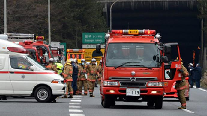 Nine Confirmed Dead In Collapsed Tunnel Near Tokyo Rt