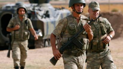 Turkey retaliates at Syria for a fifth day
