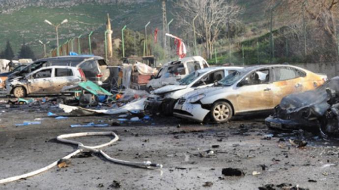 At least 13 killed, 33 wounded in bomb blast near Turkish-Syrian border