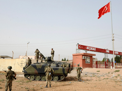 NATO 'will defend' Turkey against Syria as Ankara moves F-16s to border