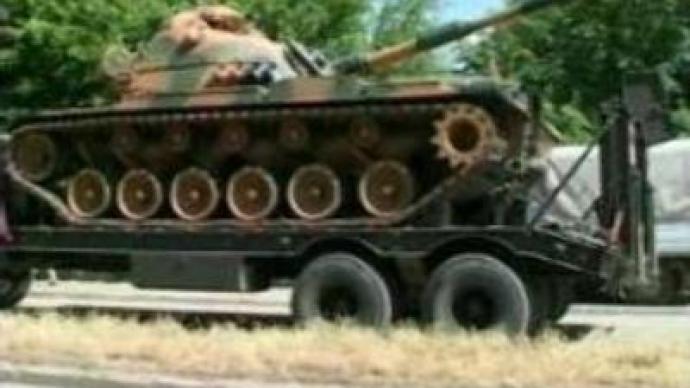Turkish troops enter Iraq?