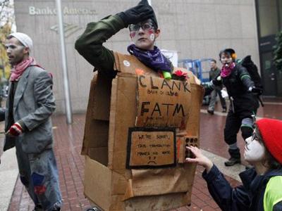 Censored: #occupywallstreet