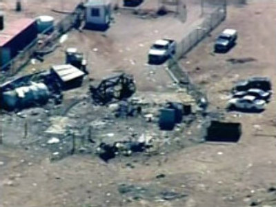 Two die in blast at U.S. rocket range