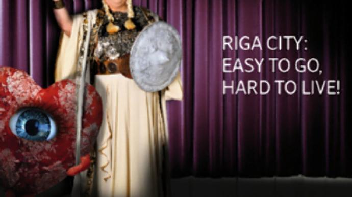 "Typo promotes Latvian capital as ""hard to live"""