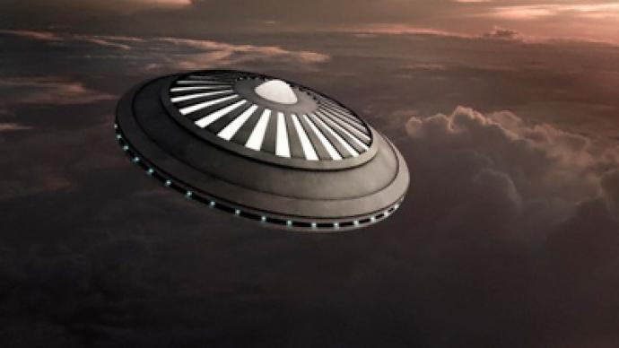 UFOs are making friends with Russians