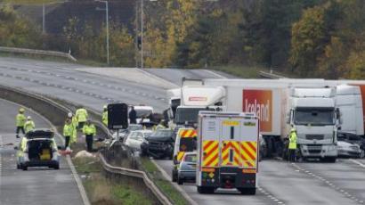 Supercar super smash: $4 million freeway crash (VIDEO)