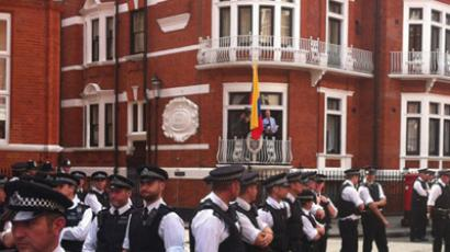 Long arm of the law: UK police given Arrest Assange order