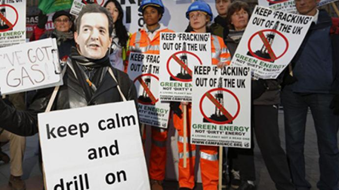 Environmental risk: UK protests over fears of fracking ban lift