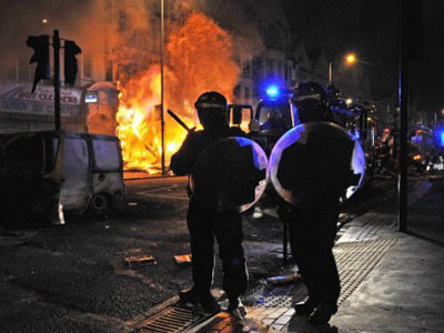 DIPs and 'skunk oil' to repel rioters in Britain