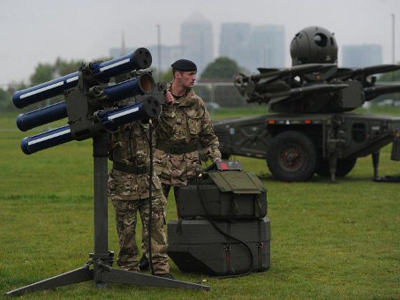 Olympic battle: Londoners to form human shield to keep missiles from homes