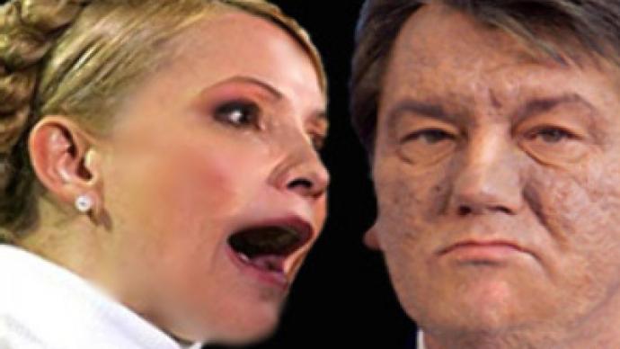 Ukrainian politicos' spats get ever pettier