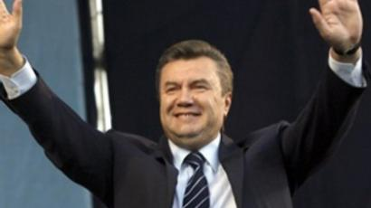 Yanukovich inaugurated as Ukrainian President