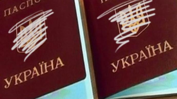 Ukrainians rush for Russian citizenship