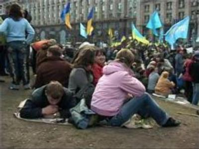 Ukrainians tired of politics
