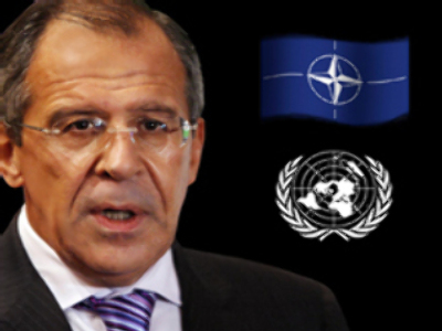 UN and NATO team up behind Russia's back
